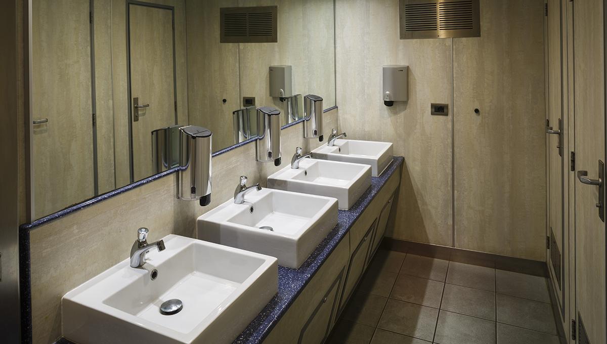 Il comfort dei nostri bagni.