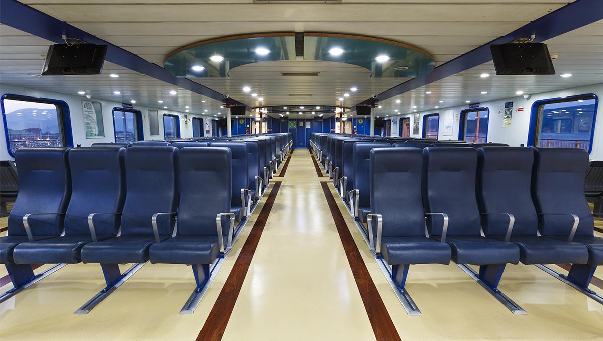 Trasportiamo fino a 800 passeggeri.